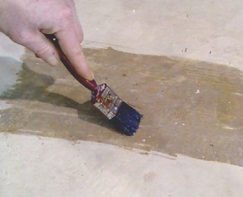 Priming a surface - as a sealer, consolidator or to aid bonding for another product.