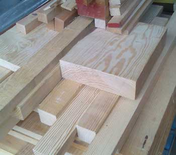 Offcuts of timber for sale